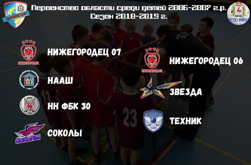 игры Первенства Нижегородской области по флорболу